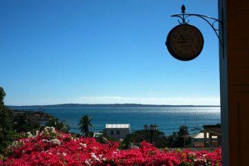 Vue sur la baie de Diego Suarez depuis le Jardin Exotique