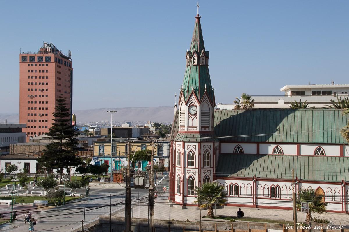 Arica chili cathédrale