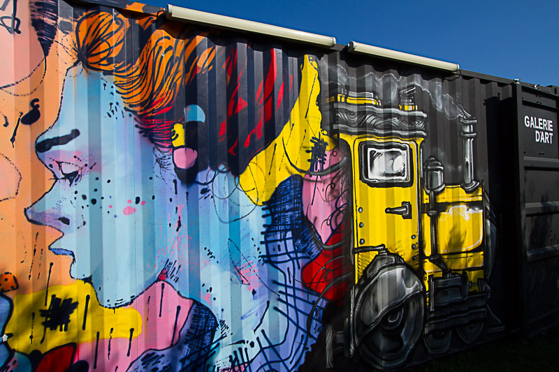 containers art urbain