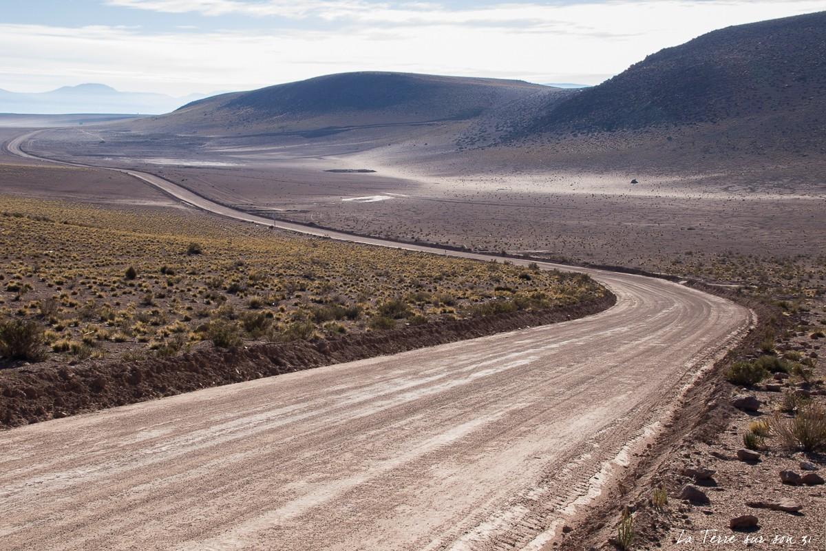 Piste Pica vers salar Huasco