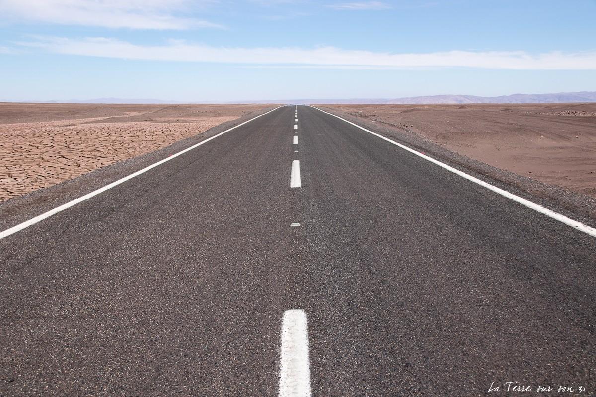 ruta A755 désert atacama