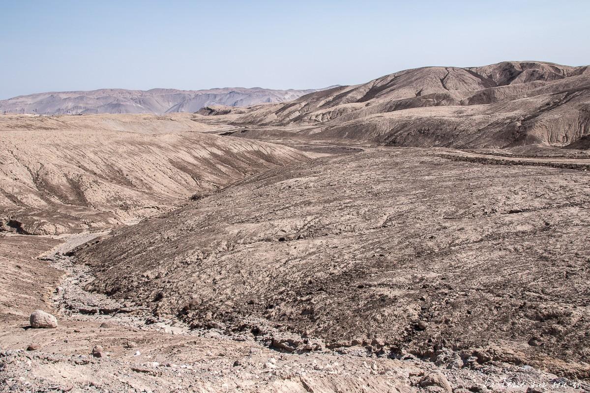 Traversée du désert d'Atacama : paysage