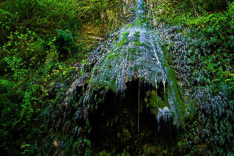 côte d'azur donareo vallon obscur cascade