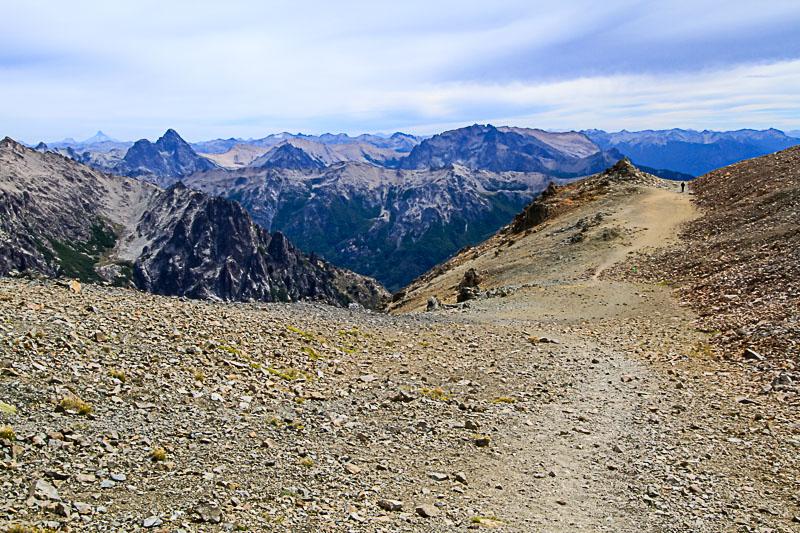 vue randonnée Cerro cathedral