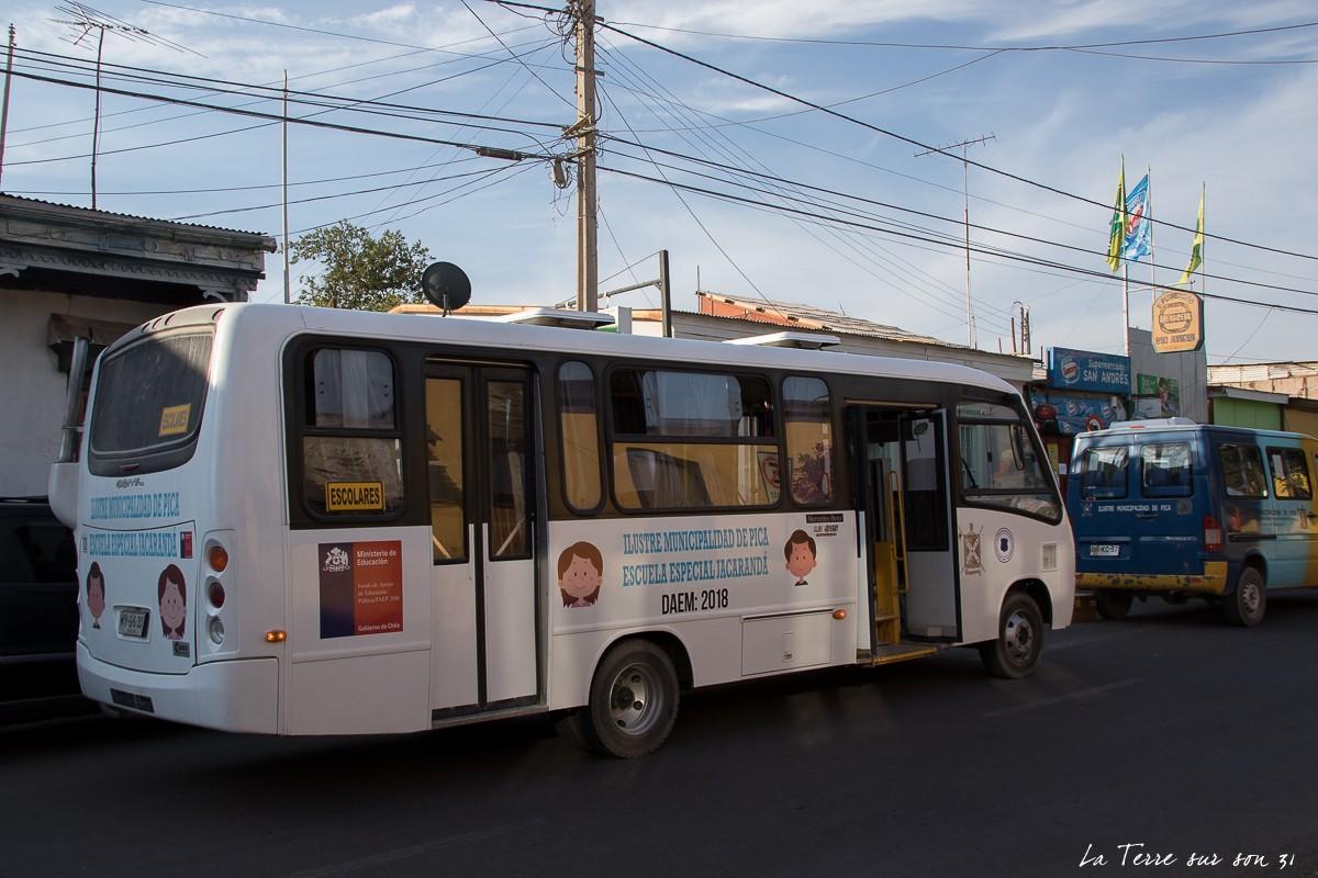 bus scolaire pica chili