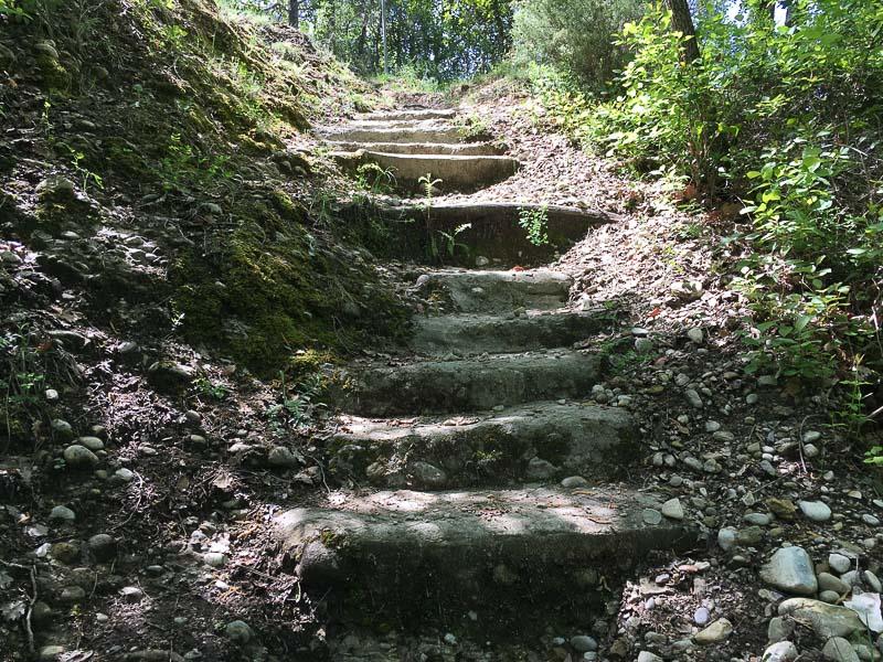 vallon donaréo escalier