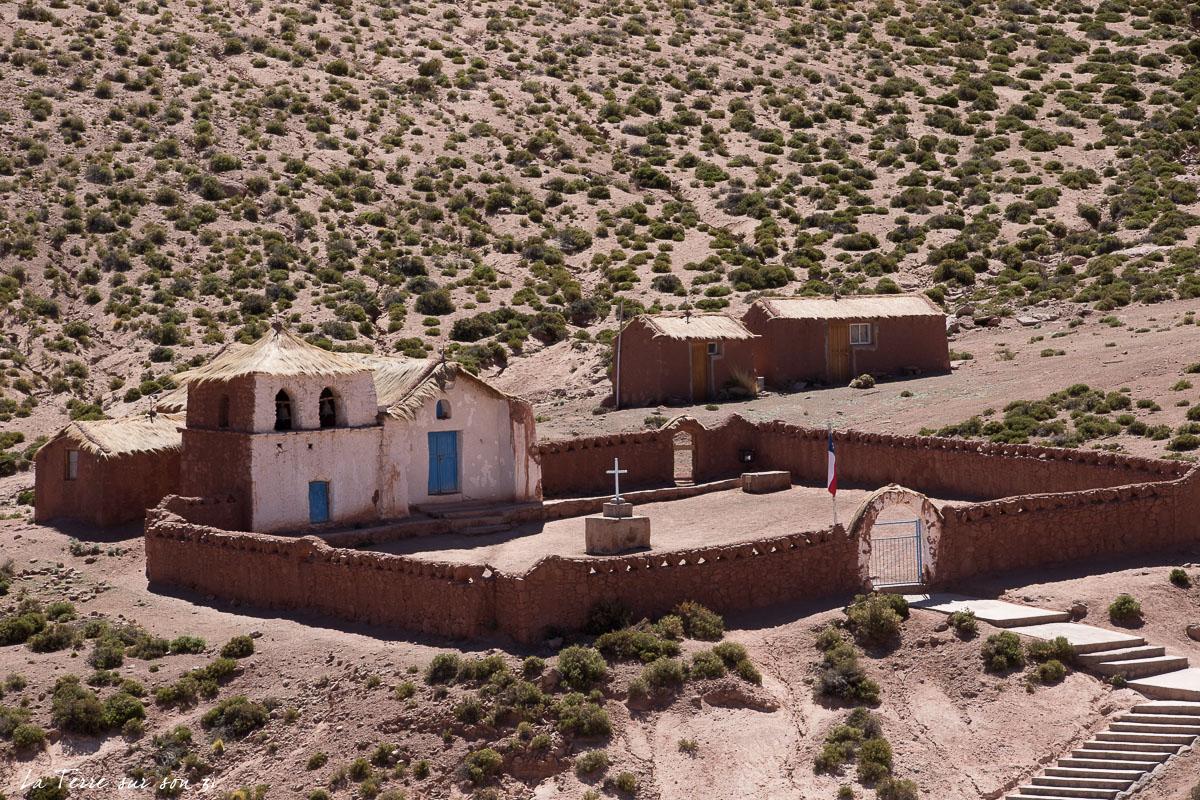 aller dans les villages du désert d'Atacama