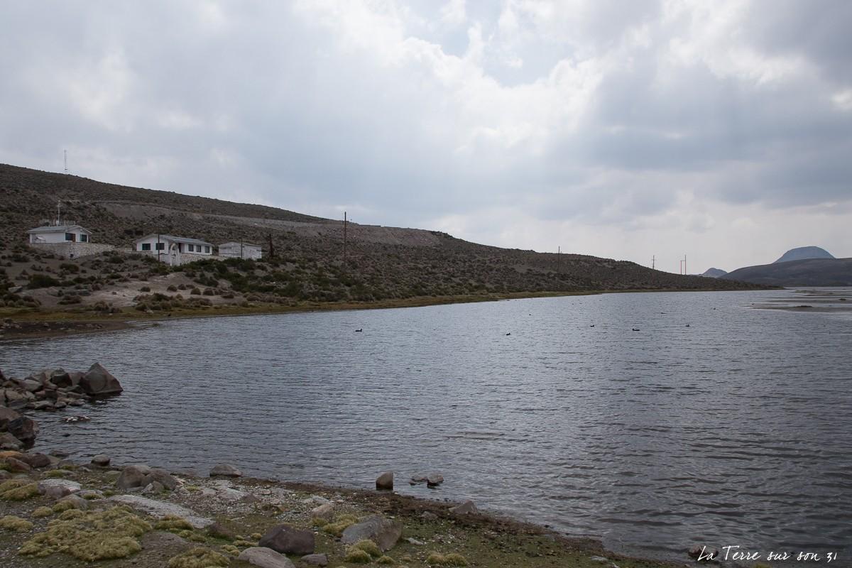 bord lac chungara