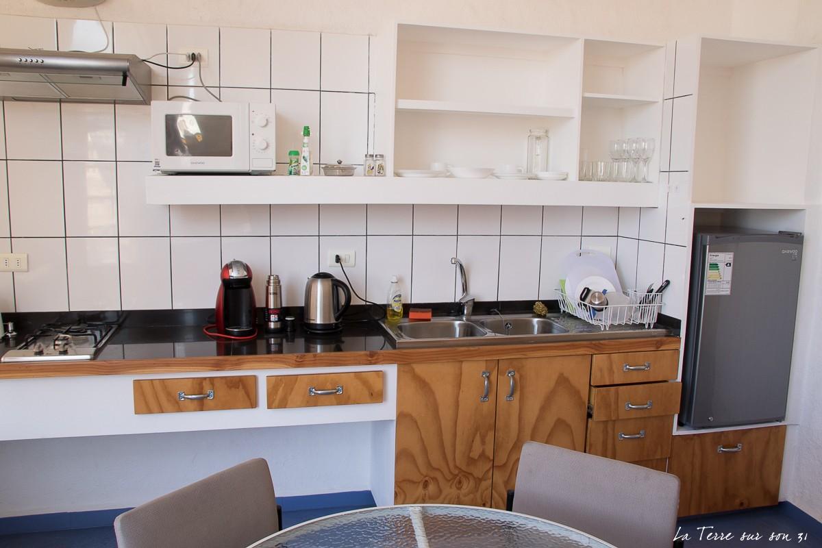 hébergement avec cuisine arica chili