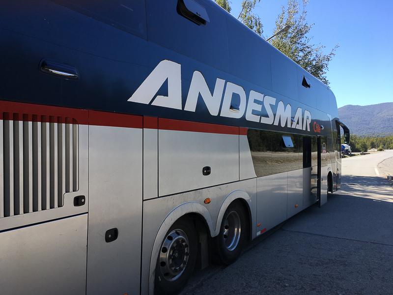 itinéraire chili trajet en bus