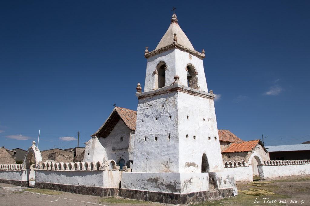 église isluga atacama chili