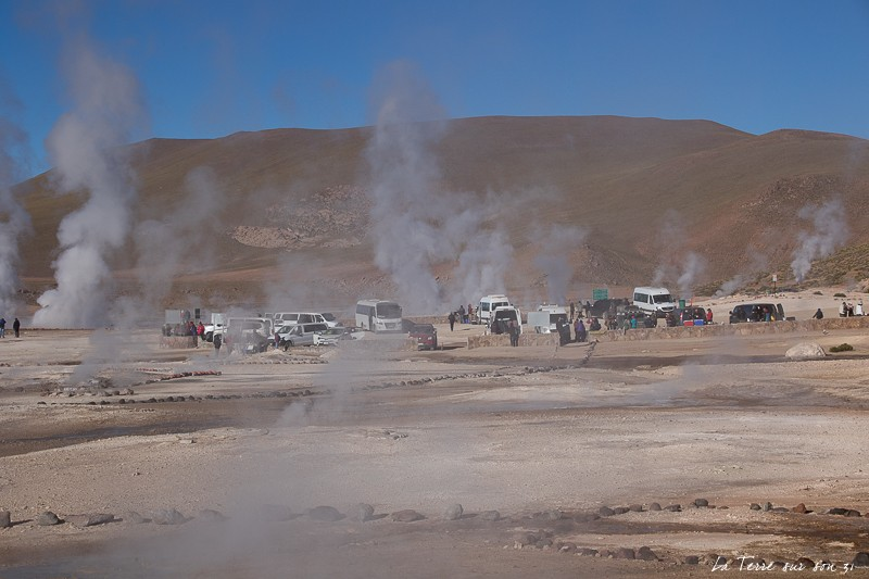 geysers de Tatio avec agence