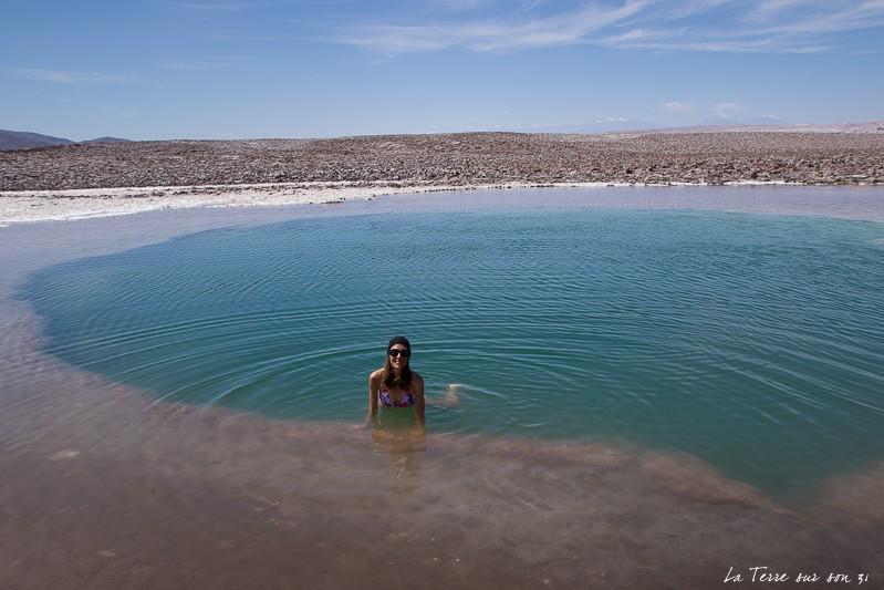 lagunes escondidas flotter baignade