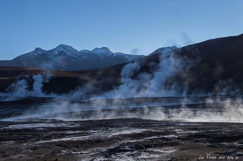 que voir dans le désert d'atacama : geysers de Tatio