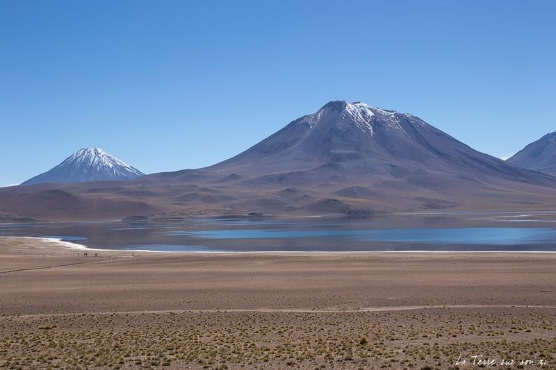 que voir dans le désert d'atacama : Lagune Miscanti