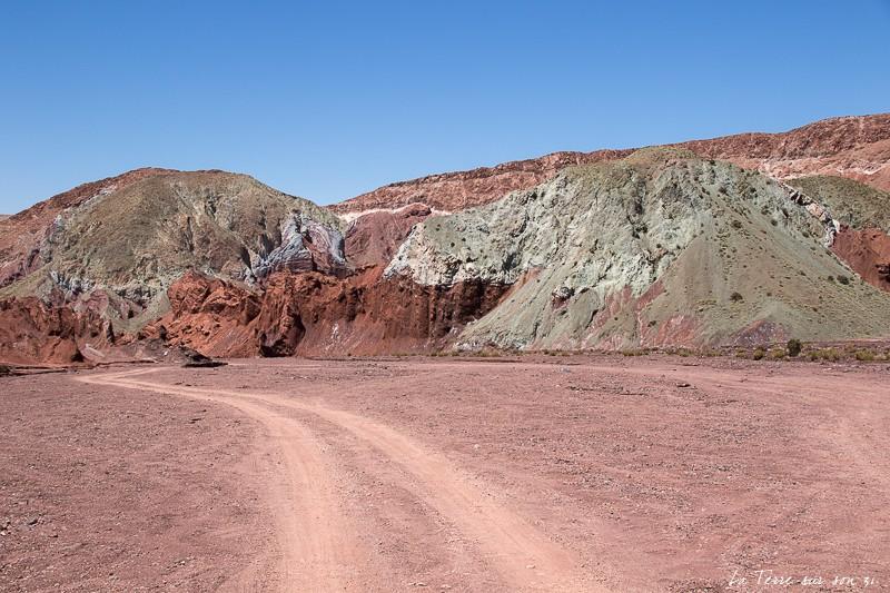 que voir dans le désert d'atacama : Vallée Arc-en-Ciel