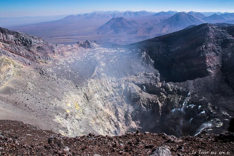 cratère volcan lascar