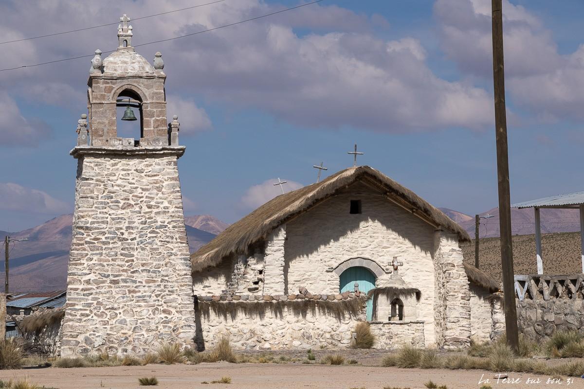 église Guallatire salar de Surire