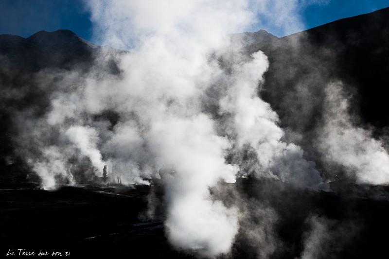 geysers el tatio fumerolles