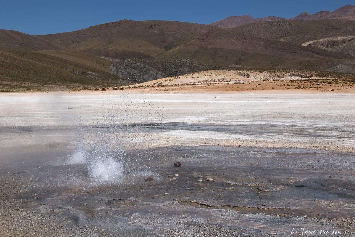 geysers puchuldiza activité géothermique