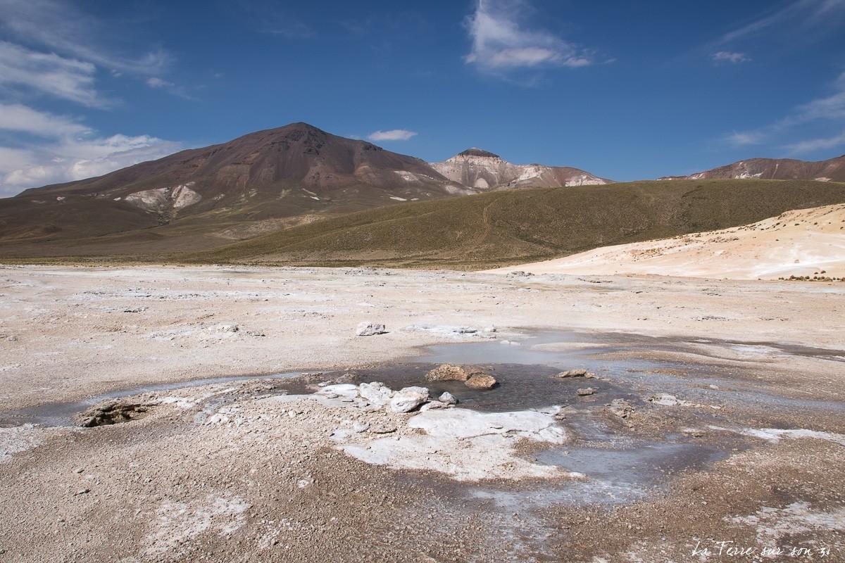 geysers de puchuldiza champ géothermique chili