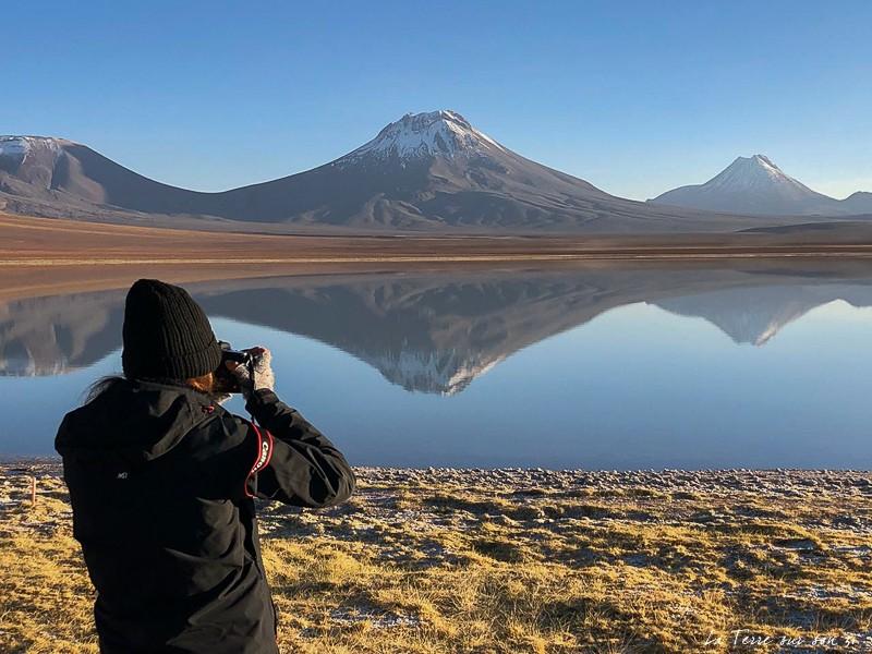 lagune Lejia atacama chili