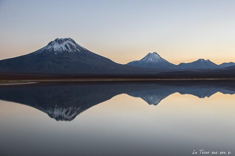 lever de soleil lagune Lejia