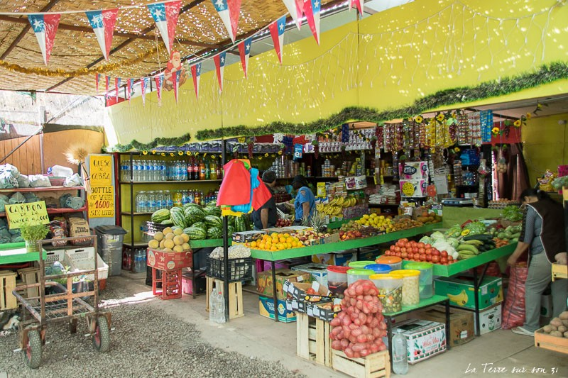 marché san pedro de Atacama