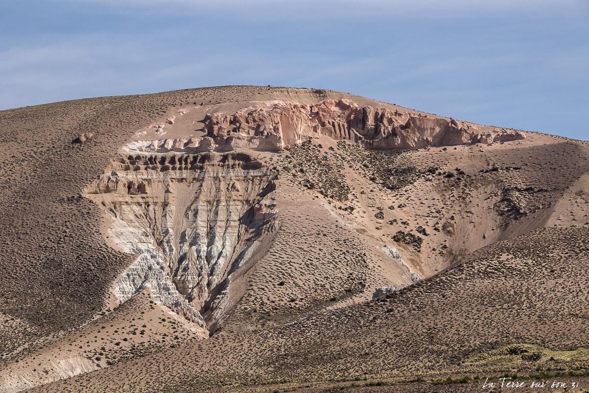 paysage route salar de surire chili