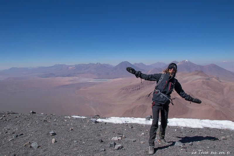 sommet volcan lascar