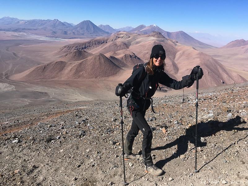 trekking volcan lascar