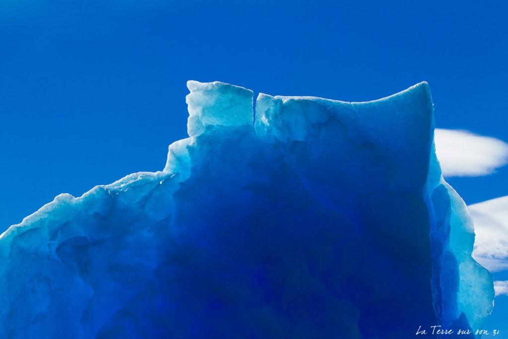 bleu glacier upsala