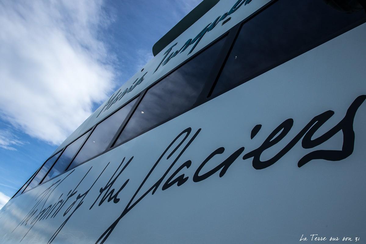 excursion bateau el calafate argentine