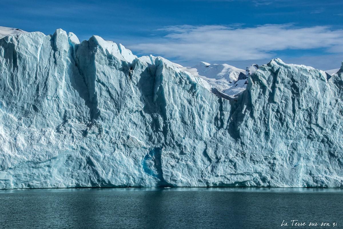 front glacier perito moreno