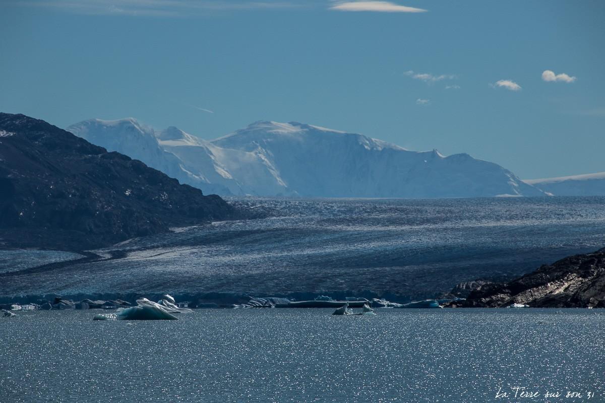 glacier upsala patagonie argentine
