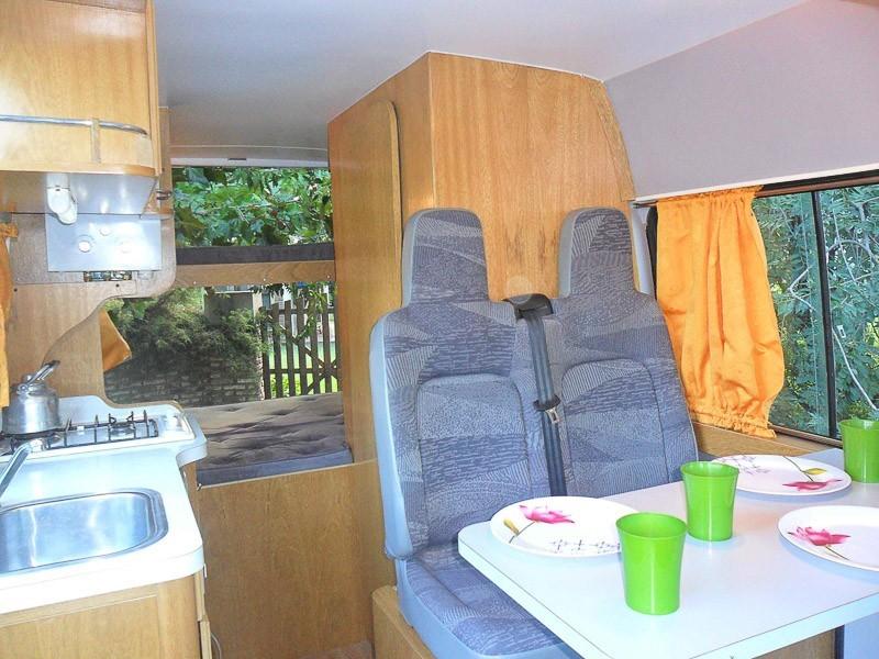 intérieur fourgon road trip argentine