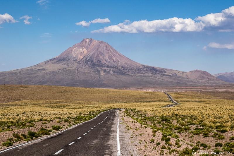 paysage le désert d'atacama
