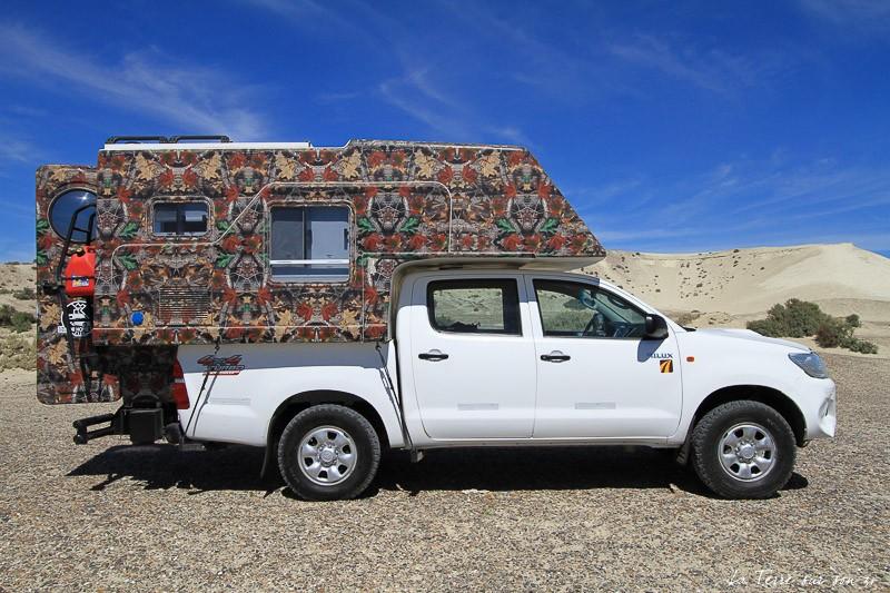 location van road trip argentine