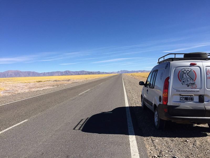 road trip argentine voiture amnagée