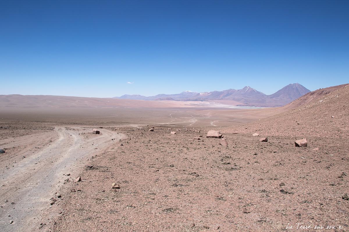 piste désert d'Atacama