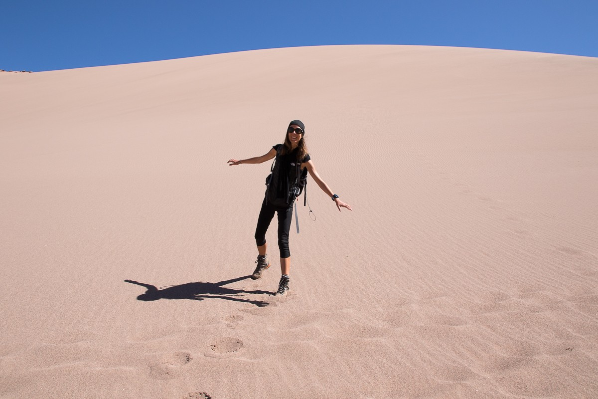 Dune atacama chili valle Muerte