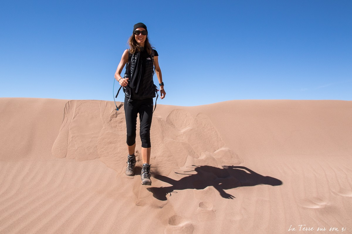 dune de sable vallée de la mort