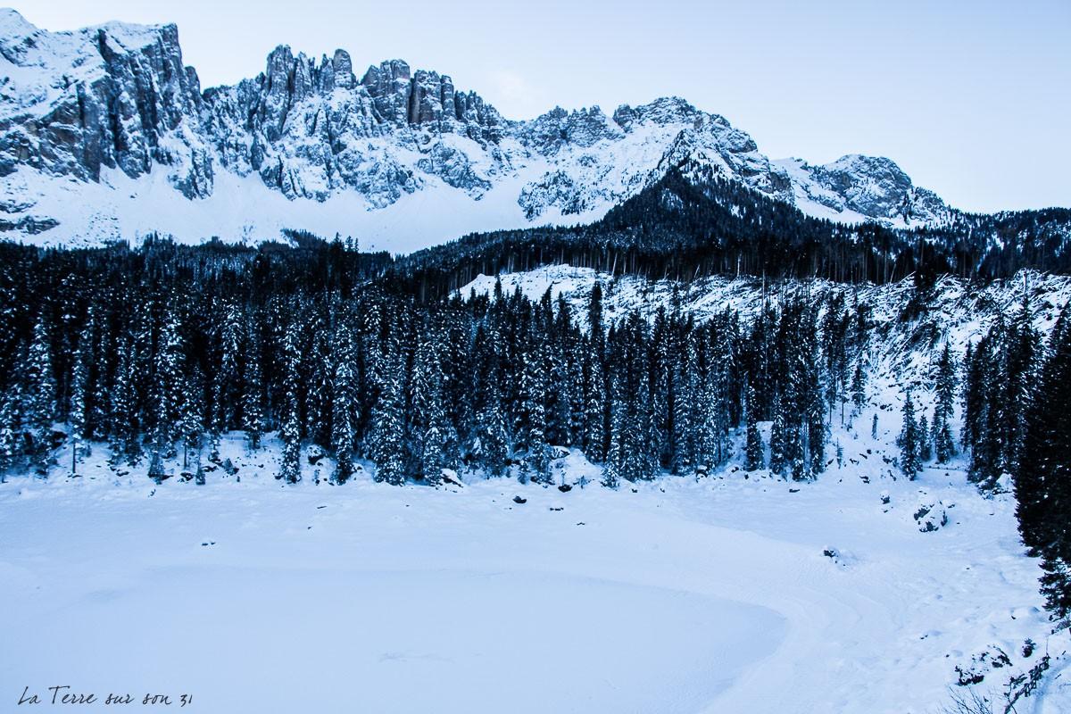 lac carezza dolomites sud tyrol