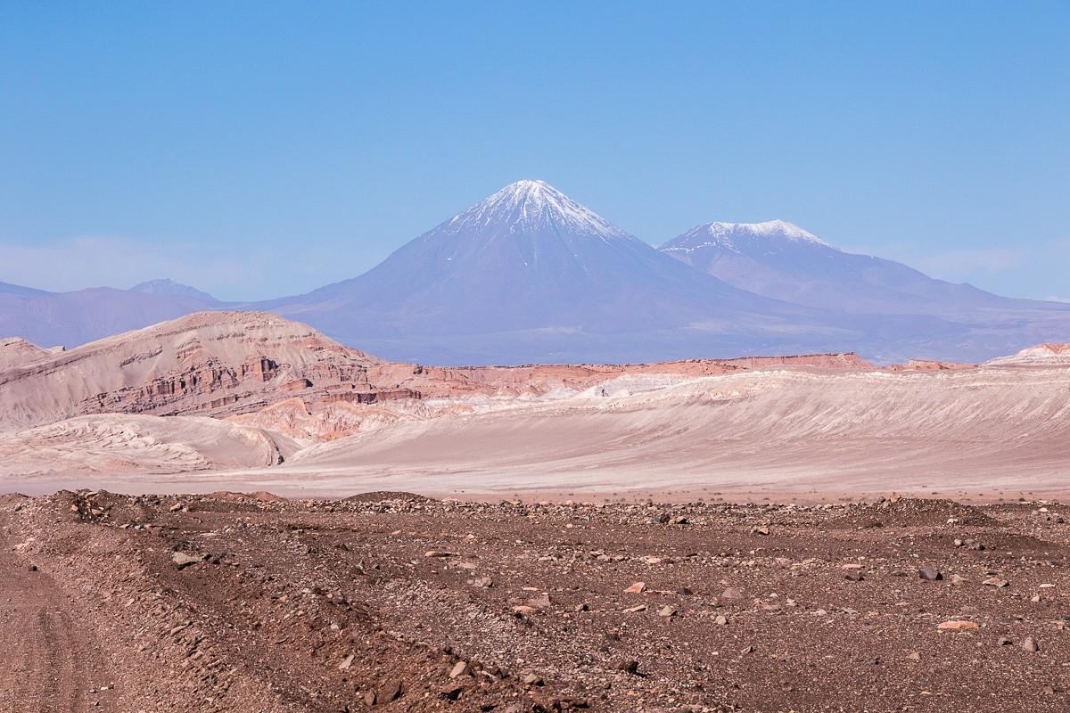paysage volcan désert d'atacama