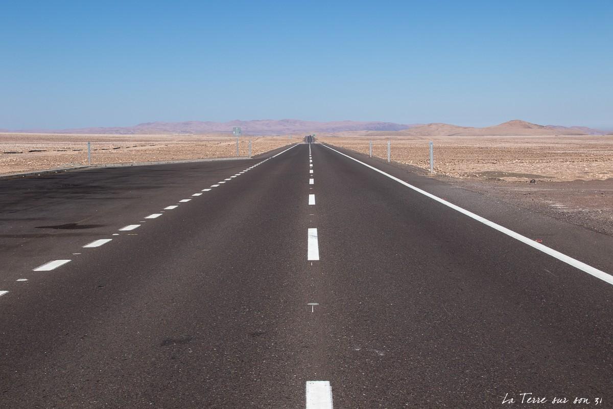 traversée du désert d'atacama : ruta 5