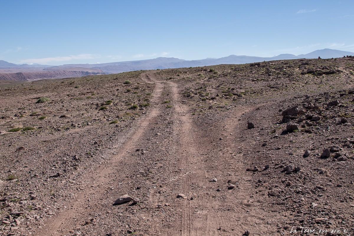sentier corniche vallée de la Mort