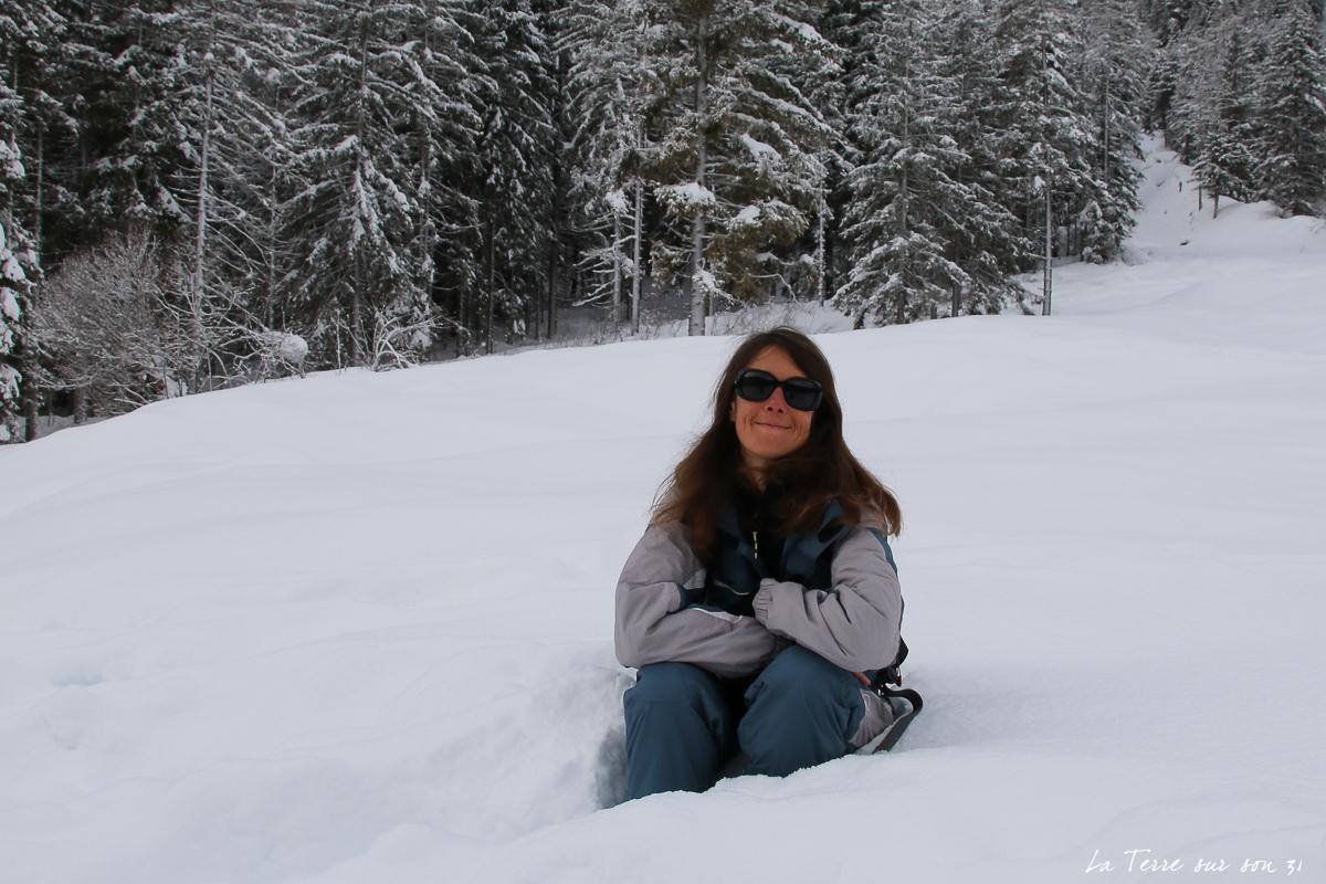balade lac neige dobbiaco