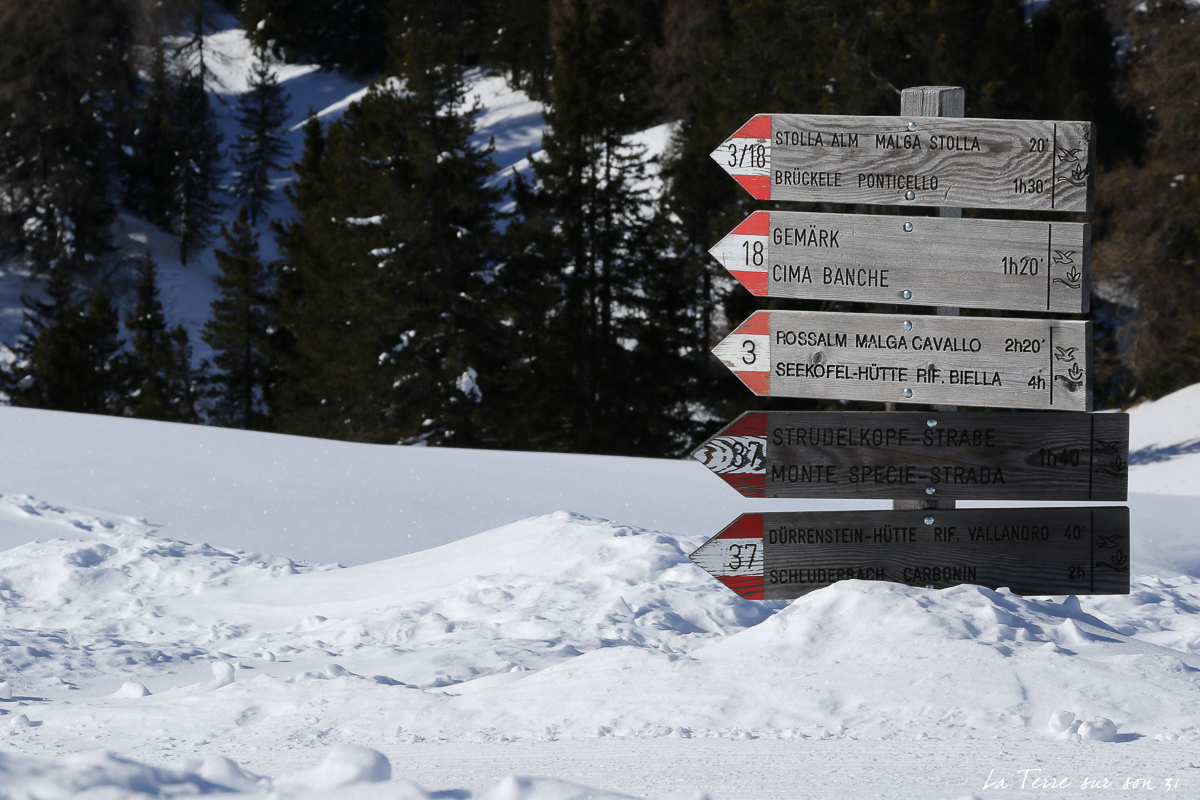 balise M. Te Specie Dolomites