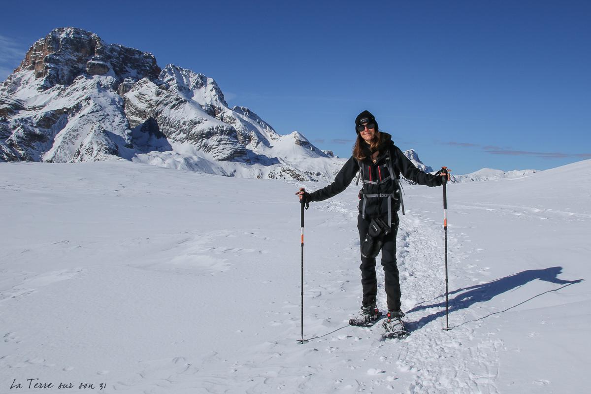 berggasthof-plätzwiese rando raquettes neige
