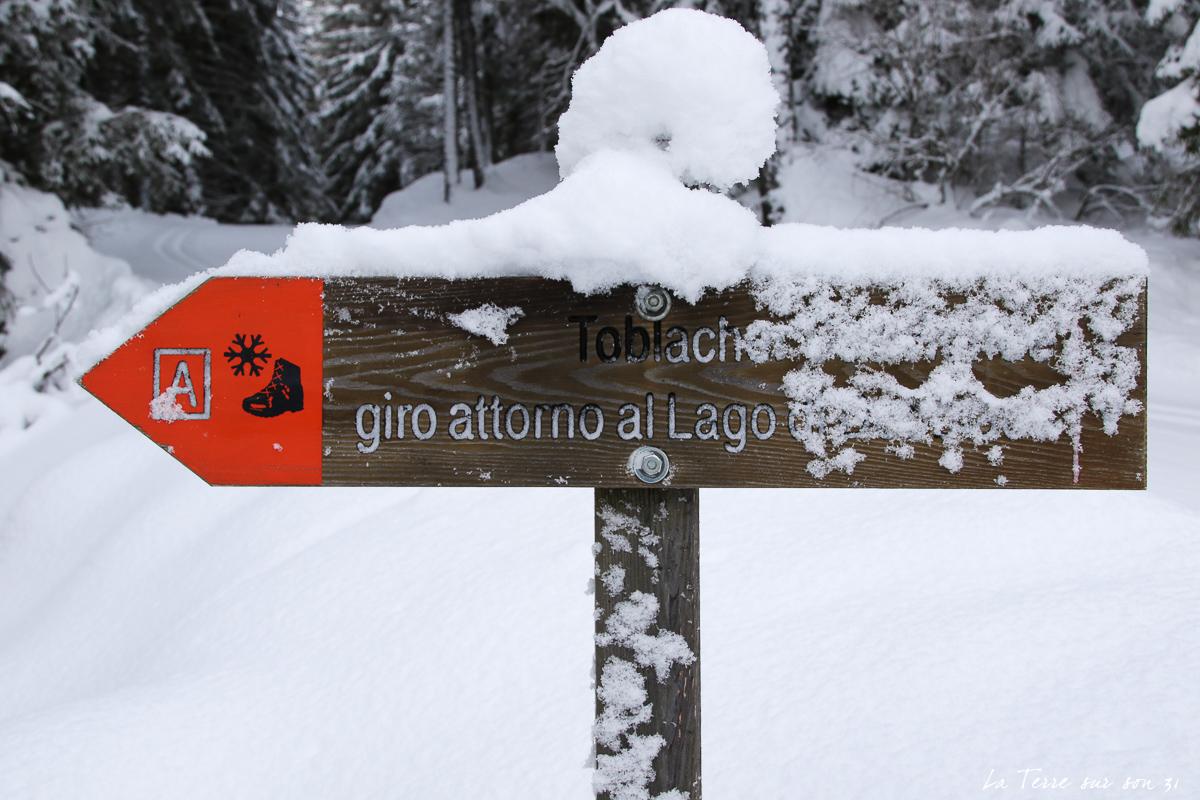 chemin lac dobbiaco